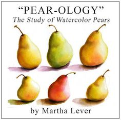 Just discovered this blog with online classes on calligraphy and watercolor.  I'd love to do the pear class.