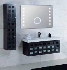 espejos de bao con luz modelo damero sul