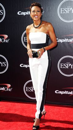 Robin Roberts - Best Red Carpet Fashions at the 2014 ESPY Awards - InStyle.com