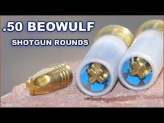 Beowulf Bullets Shot from a 12 ga. Tactical Shotgun, Tactical Gear, Weapons Guns, Guns And Ammo, 50 Beowulf, Shotgun Slug, Firearms, Shotguns, Revolvers