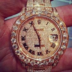 Rolex Watches Collection : (notitle) - Watches Topia - Watches: Best Lists, Trends & the Latest Styles Stylish Watches, Luxury Watches, Rolex Watches, Watches For Men, Diamond Watches, Expensive Watches, Quartz Watch, Fashion Watches, Bracelet Watch