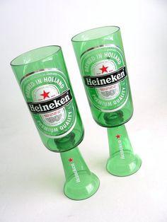 Get Crafty And Make Some Unique Candle Holders 50 Ideas For A Perfect Weekend Project - Kronleuchter Beer Bottle Crafts, Wine Bottle Art, Diy Bottle, Diy Unique Candles, Unique Candle Holders, Cutting Glass Bottles, Bottle Cutting, In China, Bottles And Jars