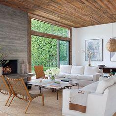 Natural and luxurious. {Home of @jennikayne,  by @rogerdaviesphotography via @archdigest} #interiorinspiration