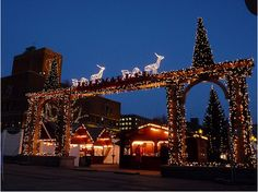 Christmas market at Oslo, Norway.