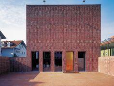 Municipal Gallery in Marktoberdorf, Bearth + Deplazes