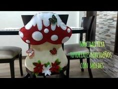 Cubresilla Hongo Navideño. 2019 - YouTube Diy Spring Wreath, Diy Wreath, Teaching Fractions, Cool Bugs, Finger Joint, Children Images, Cute Images, How To Make Wreaths, Book Activities