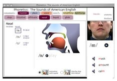 Sounds of Speech™ provides an understanding of how each of the speech sounds of American English is formed. It includes animations, videos, and audio samples.Sounds of Speech™ is especially useful for students studying English as a second language. Speech Pathology, Speech Language Pathology, Speech And Language, Second Language, Voice Therapy, Speech Therapy, Phonetics English, Iowa, Articulation Therapy