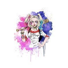Daddy's Lil Monster - Harley Quinn