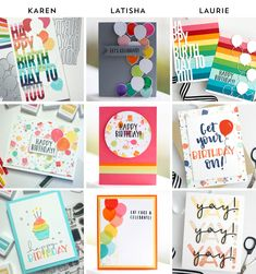 It's Your Birthday, Birthday Wishes, Birthday Cards, Happy Birthday, Becky Roberts, Concord And 9th, Lets Celebrate, Cute Cards, Eat Cake