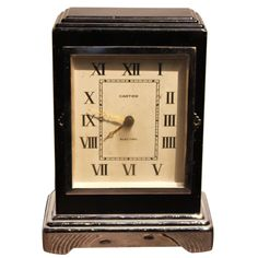 30's Cartier... one of the first ever electric clocks... I have to love it.