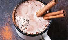 Spiced Hot Chocolate Recipe- Learn how to make Spiced Hot Chocolate step by step on Times Food. Find all ingredients and method to cook Spiced Hot Chocolate along with preparation & cooking time. Spiced Hot Chocolate Recipe, Healthy Hot Chocolate, Hot Cocoa Recipe, Cocoa Recipes, Cacao Chocolate, Chocolate Powder, Healthy Drinks, Healthy Snacks, Cinnamon Uses
