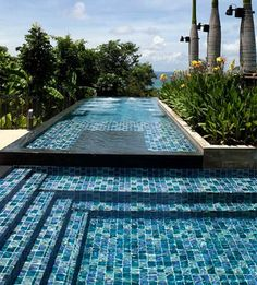 Mosaic Tile Pool Designs 17 best images about pools on pinterest glass mosaic tiles blue tiles and mosaics Find This Pin And More On Mosaic Tiles Blue Science Custom Pool Designs