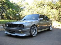 BMW E30. I think I watched a video on this and if it is the one it's not a genuine E30 but looks great.