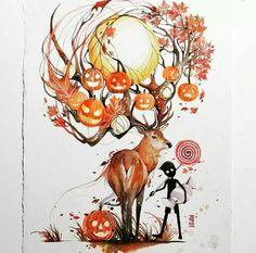 Beautiful art by Luqman Reza (Jongkie)