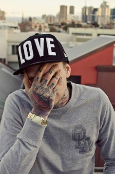 Pinterest: @icristy13| A guy with tattooed hand. #tattoo #tattoos #ink