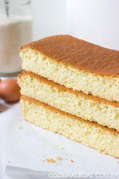 Pão de ló com 3 ingredientes é uma receita fácil e rápida de ser feita. Com…