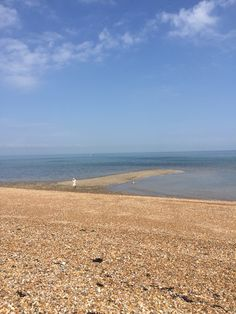 Our own little bit of shingle Street. Whitstable Harbour Beach