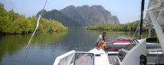 Segeltörn in Thailand 2017 Thailand, Boat, Dinghy, Boats