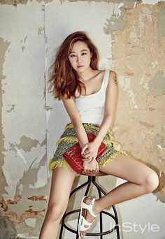 More of Gong Hyo Jin for InStyle Korea's July 2014 Issue | Couch Kimchi