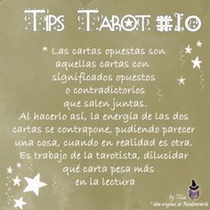 Tarot Tips 10 | Tilia's Blog