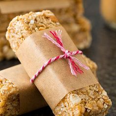Microwave Chewy Peanut Butter Granola Bars