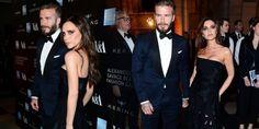 David e Victoria Beckham no evento McQueen Savage Beauty Gala | Spice Girls Brasil - SpiceGirls.com.br