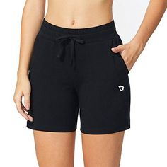 Women's Active Shorts - Baleaf Women's Activewear Yoga Lounge Shorts with Pockets at Women's Clothing store: Tennis Clothes, Lounge Shorts, Shorts With Pockets, Athletic Wear, Active Wear For Women, Workout Shorts, Lounge Wear, Gym Shorts Womens, Clothes For Women