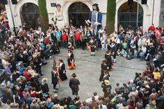 Pregó de les Festes de Maig 06. Ball Parlat, Miquelets de Badalona.