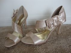 Champagne shoes from DSW