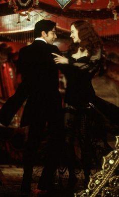 Satine and Christian (Ewan McGregor and Nicole Kidman) Moulin Rouge