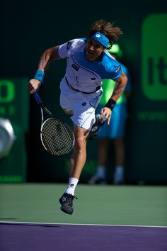David Ferrer of Spain    photo © Chaz Niell