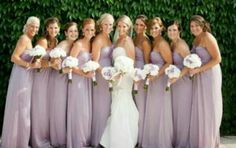 blush lilac bridesmaid dress - Exactly the color I would love to have :) so pretty Lavender Bridesmaid Dresses, Wedding Bridesmaids, Bridesmaids And Groomsmen, Wedding Dresses, Bridesmaid Color, Bridesmaid Gowns, Lilac Wedding, Wedding Colors, Dream Wedding