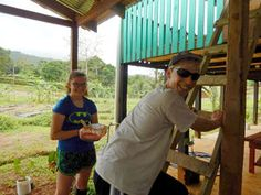 High school students study science in Costa Rica - Lilly Even and Ben Cox