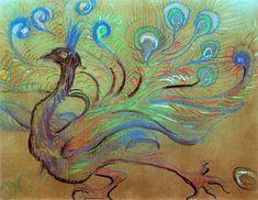 The Athenaeum - Peacock (Stanislaw Wyspianski - )
