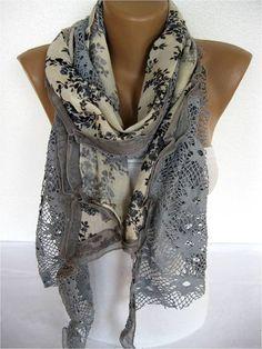Trend Scarf Fashion Scarf  Shawls-Scarves-Gift by SmyrnaShop:
