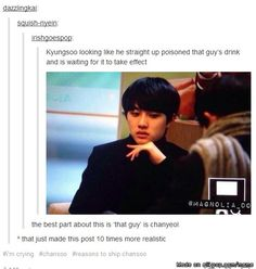 I wouldn't believe in this post because everybody knows Baekhyun would be the first to go LOL