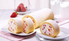 Erdbeer-Quark-Rolle Rezept | Dr. Oetker