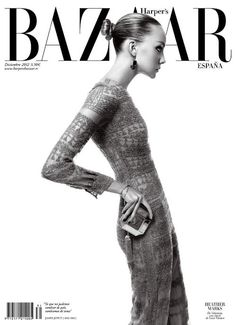 Heather Marks photographed by Xevi Muntane for Harper's Bazaar Spain, December 2012