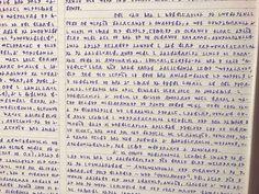 Segunda imagem com os escritos do desaparecido jovem Bruno