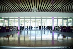 Memorial stadium dance floor
