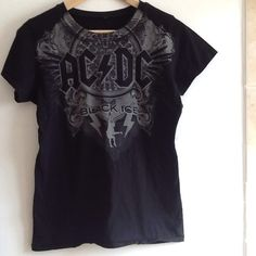 AC DC Band Tour Shirt Like new! Bought from concert. Women's size large but runs small. Rare Tops
