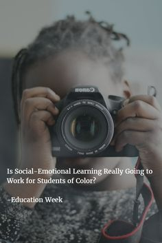 \'Is Social-Emotional Learning Really Going to  Work for Students of Color?\' -Dena Simmons in Education Week #sel #teachers #teaching #edchat