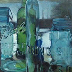 Pickle Juice Jars by Sally Tharp