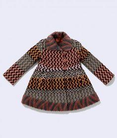 Tessitura Reversible Coat, Missoni Kids