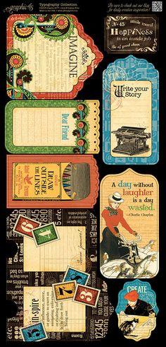 Typography-sneak peek, CHA Summer 2013, embellishments, stickers, chipboard die- cut, stamps, cardstock