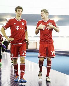 Thomas Müller & Toni Kroos