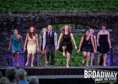 Nicole Mangi leading the tappers at Transcendence Theatre Company - Broadway Under the Stars in Jack London State Park in Sonoma, Napa, Wine Country. http://www.transcendencetheatre.org/ Photo By Robbi Pengelly