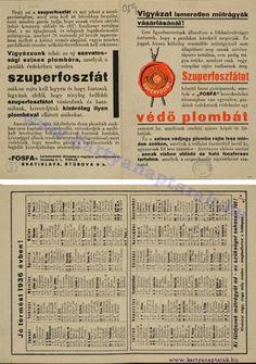1936 - 1936_0006 - Régi magyar kártyanaptárak