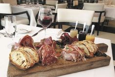 charcuterie lets meat get the party started