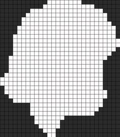 Frozen Elsa Perler Bead Pattern / Bead Sprite